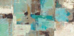 W13702 - Silvia Vassileva - Teal And Aqua Reflections