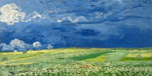 2VG1541 - Vincent Van Gogh - Wheatfield under thunderclouds