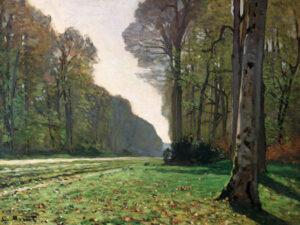 3CM035 - Claude Monet - Le Pave de Chailly