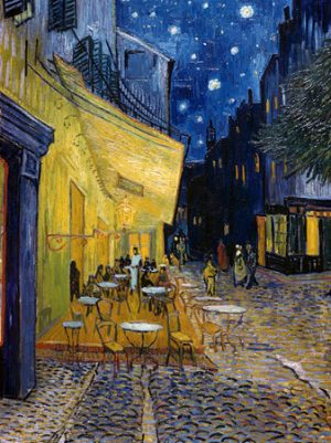3VG116 - Vincent Van Gogh - Cafe Terrace at Night