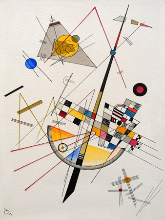 3WK3958 - Kandinsky - Delicate Tension