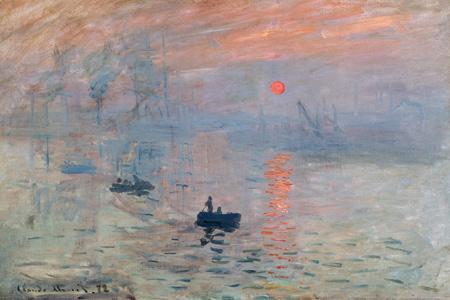 3Wk2609 - Claude Monet - Impression au soleil levant