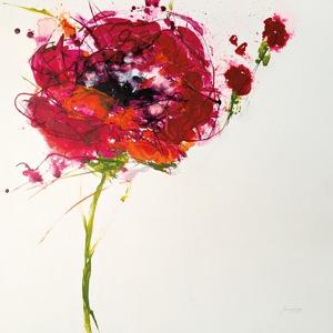 W29798 - Jan Griggs - Poppy Master on White